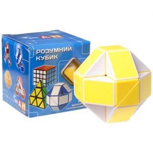 Змейка Рубика желтая Smart Cube YELLOW
