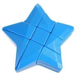 Голововломка Звезда Рубика Синяя Blue Star Cube