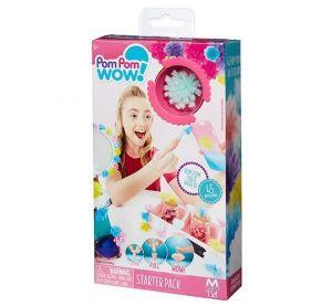 Игровой набор Pom Pom Wow - МОДНИЦА, 45 помпонов, 7 цветов