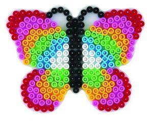 HAMA Поле для Midi, бабочка, Midi 5+, термомозаика