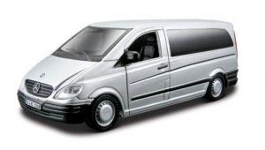 Bburago Автомодель MERCEDES-BENZ VITO (ассорти серебристый, черный , 1:32)