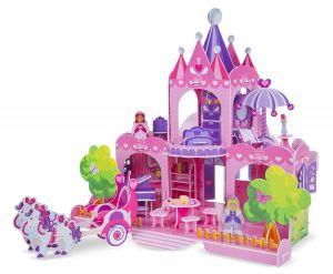 3D пазлы Melissa & Doug Розовый замок