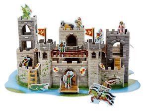 """3D пазлы """"Средневековый замок"""" Melissa & Doug"""