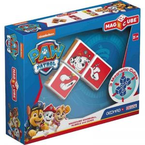 Кубики магнитные Geomag MAGICUBE Paw Patrol Marshall, Rubble and Zuma