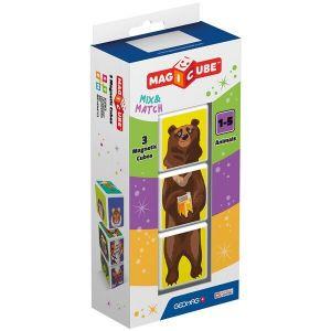 Geomag MAGICUBE Animals магнитные кубики 3 шт