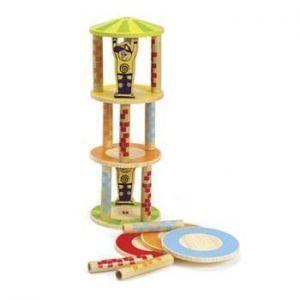 Деревянная игрушка головоломка балансир HAPE Crazy Tower