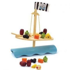 Деревянная игрушка головоломка балансир HАРЕ Stormy Seas