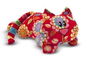 Мягкая игрушка Котик Тобик, Beeposh Melissa & Doug 51 x 28 x 19 см