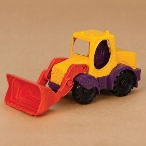 Игрушка для игры с песком - МИНИ-ЭКСКАВАТОР (цвет манго-сливово-томатный)