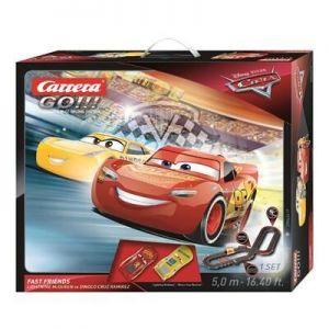 Автотрек Carrera GO!!! Тачки 3 Быстрые друзья, длина трассы 5 м