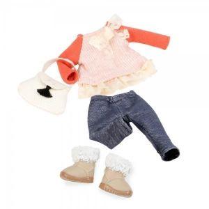 Одежда для кукол LORI с кружевами LO30002Z