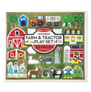 Деревянный игровой набор Ферма и трактор Melissa & Doug MD14800
