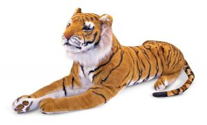 Гигантский плюшевый тигр, 180 см. Melissa & Doug MD12103,
