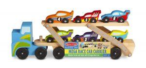 Деревянный мега тягач автомобилей Melissa & Doug MD12759